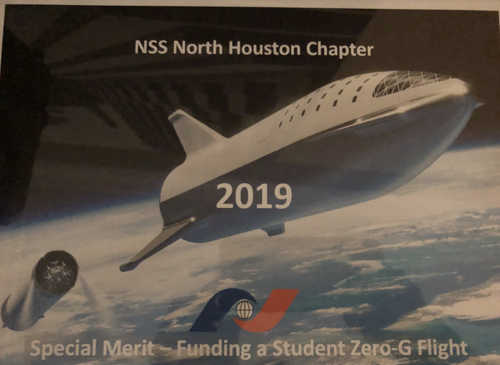 July 2019 – NSS North Houston Space Society